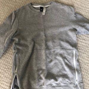 Adidas zipper crewneck